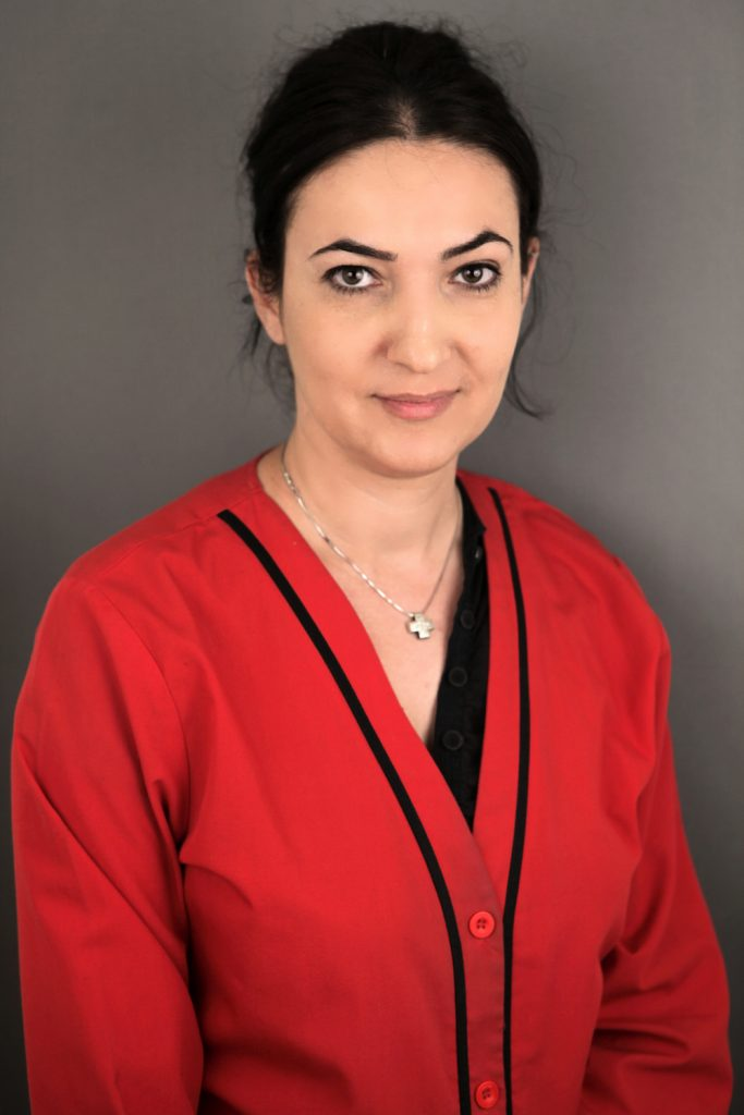Gohar Avasapian, Assistant Office Manager
